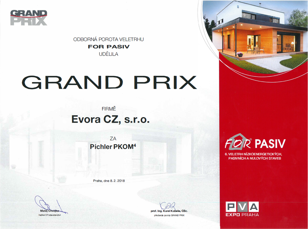 For Pasiv Grand Prix Pichler PKOM4